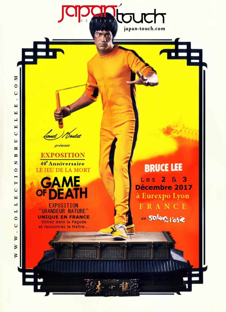 Game Of Death T-Shirt Homme Bruce LEE Le Jeu de la Mort